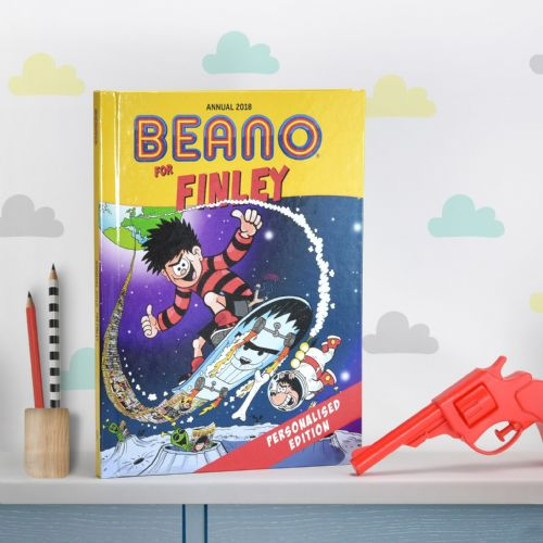 Personalised Beano Comic Book Annual